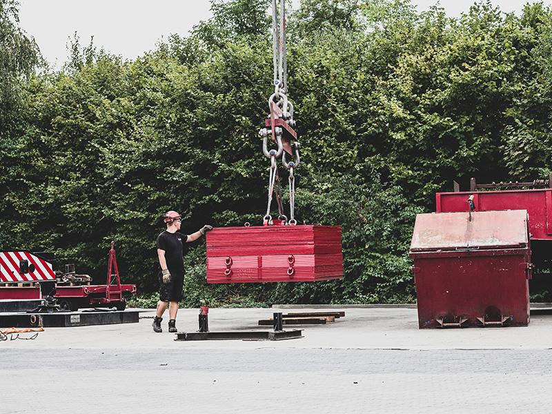 prüfgewichte, prüfgewichte für krane, kranbewegungen, kran prüfen, Autokrane Schares, Ruhrgebiet