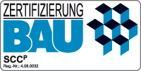 Logo Zertifizierung Bau Kranunternehmen, Kranvermietung, Kranfirma, Schares
