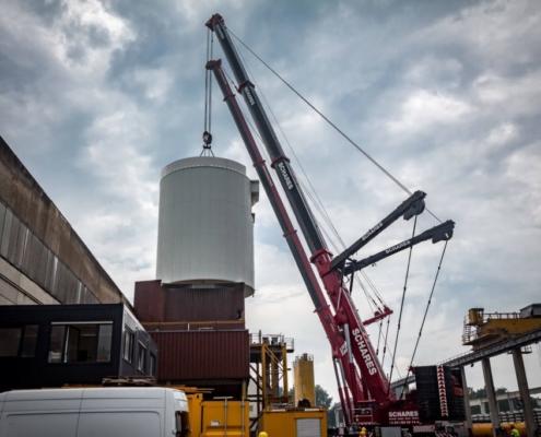 Montagen in NRW Autokrane Schares Industriemontagen und Maschinenumzüge