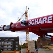 Autokrane Schares Willich EInsatz Demag AC 160-5