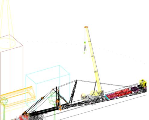 CAD 3D für Kraneinsätze
