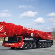 500 Tonnen Kran Liebherr LTM 1500-8.1 Autokrane Schares ALl-Terrain_kran Kranvermietung Grove 500 Tonner