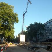 spierings mobiler Faltkran Autokrane Schares Bocholt, Essen, Goch und Willich