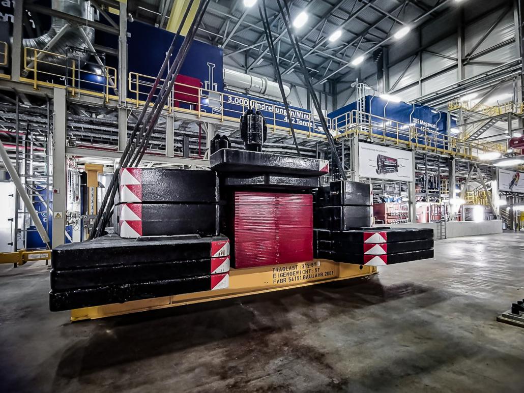 Autokrane Schares Prüfgewichte 270 Tonnen Schwerlast Düsseldorf