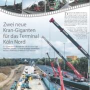 Liebherr 1500 LTM 500 Tonner Krane Autokrane Schares Köln Kranbrücke Tandemhub