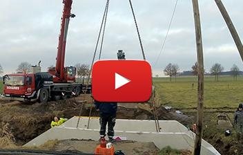 Video Bild Schares_Autokrane Schares Fertigbrücke einbau