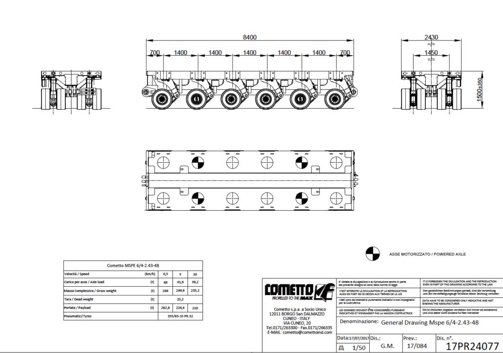 6 Achsen SPMT, MSPE, Autokrane Schares, modulare Systeme, Schwerlastsysteme selbstfahrend
